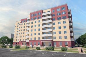 Общественно-жилой комплекс в д. Метелева