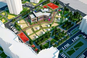 Детский сад, жилого района «Тюменский-2»
